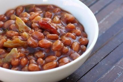блюдо из бобов