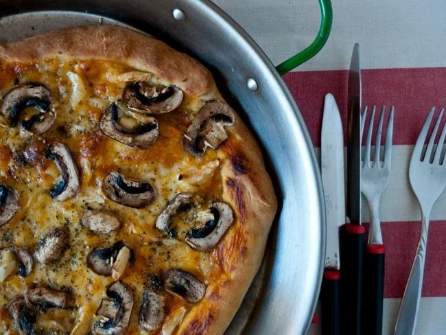 пицца тонкое тесто