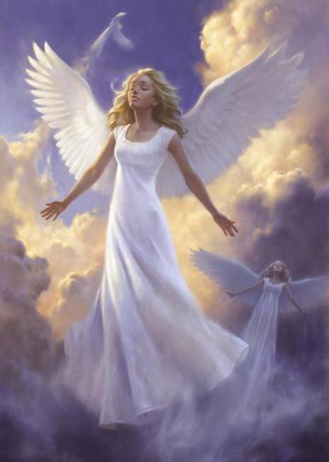 призвать ангелов на помощь