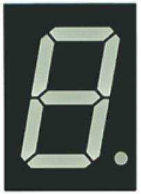 Как работает семисегментный индикатор?