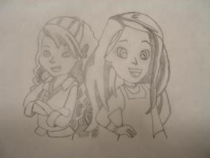 рисовать поэтапно карандашом мультяшек