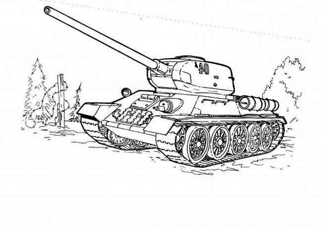 Как рисовать танки: советы