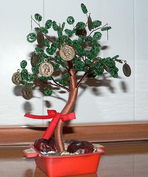 денежное дерево своими руками из монет