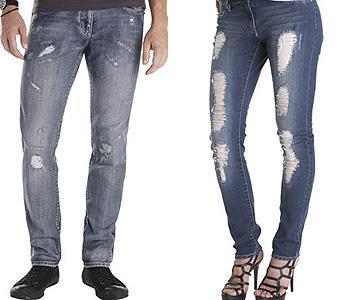 Как сделать джинсы потертыми самостоятельно?