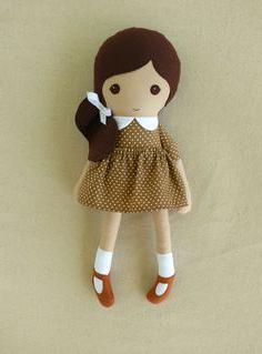 как сделать куклу из ткани