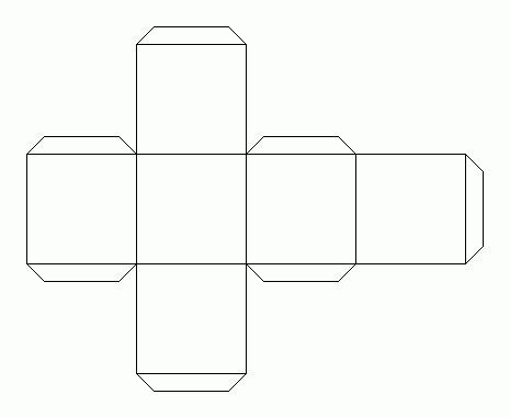 Как сделать куб из бумаги – несколько простых советов