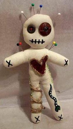 как сделать куклу вуду своими руками