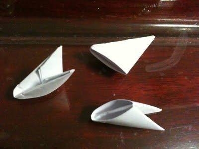 Схема лебедя из модулей