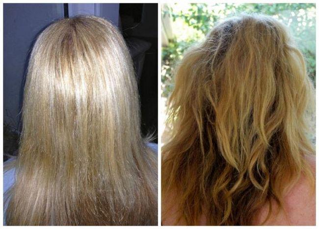 смывка для волос лореаль