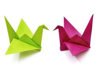 Как сделать журавля из бумаги ? Узнаем рецепт счастья