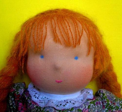 Как сшить игрушку и ее мелкие детали: нос куклы, глаза, волосы