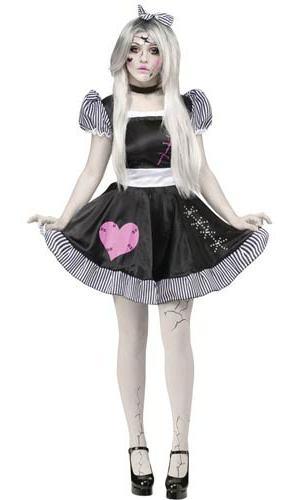 костюм куклы вуду на хэллоуин своими руками