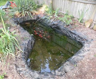 как сделать водоем на даче