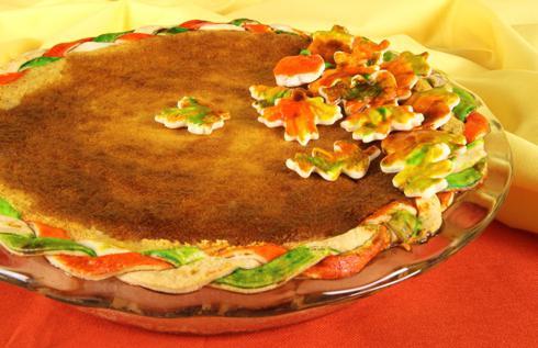 Как украсить пирог в домашних условиях?