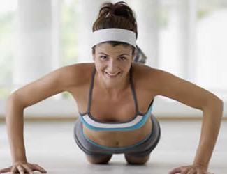 Упражнения для роста грудей
