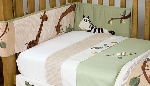 Сшить бампер в детскую кроватку