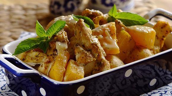 рецепт филе курицы с картошкой