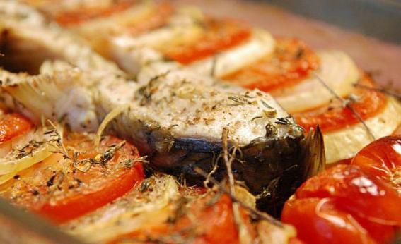 запеченная рыба в духовке карп