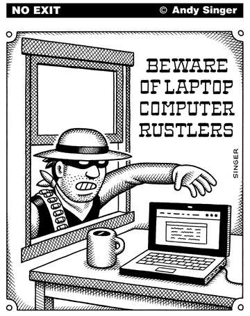 Как защитить ноутбук от кражи