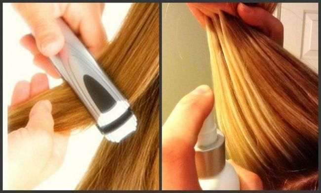 как завивать волосы с помощью утюжка