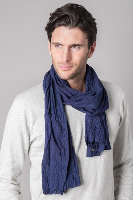 как красива завязывать шарф