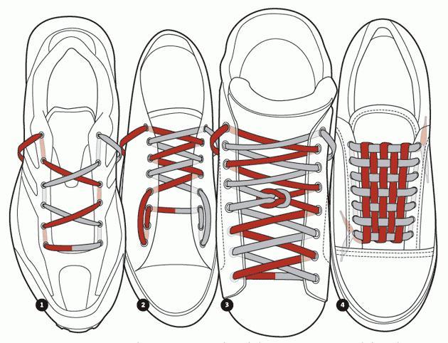 Как завязать шнурки: рекомендации
