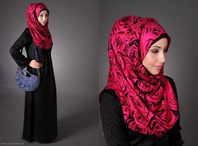 Как завязывать хиджаб - традиционный исламский женский платок