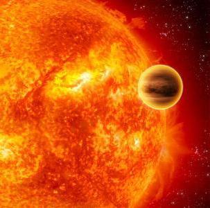 какая планета ближе к солнцу