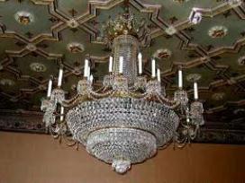 люстры в зал