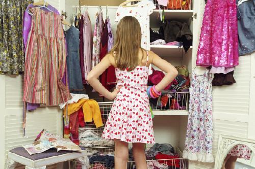 Базовый гардероб девушек