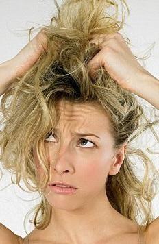 что делать после смывки волос