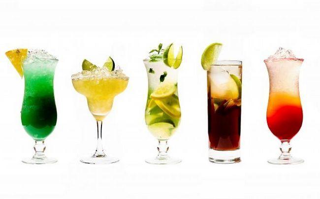 калорийность алкогольных напитков таблица