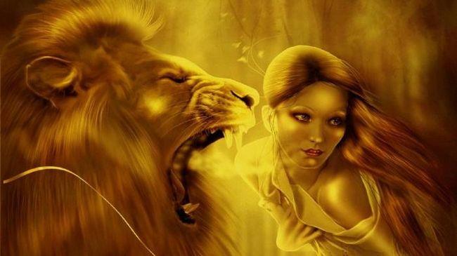 камень для львов женщин