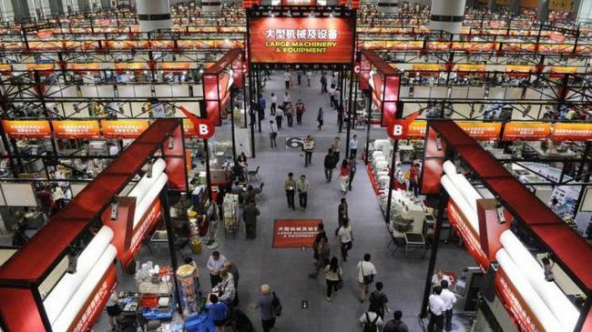 кантонская ярмарка китай