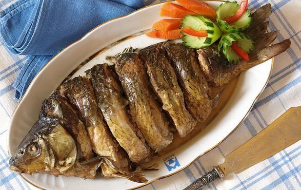 рыба в духовке карп рецепт