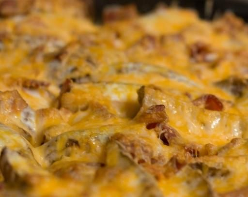 рецепт запеченной картошки с сыром