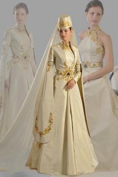 наряд кавказской невесты