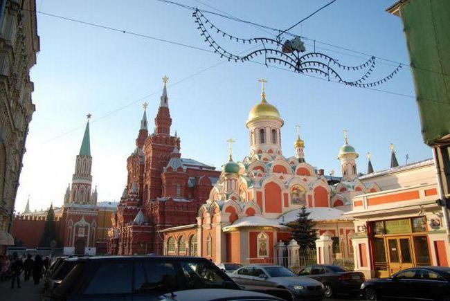 Казанский храм Китай город