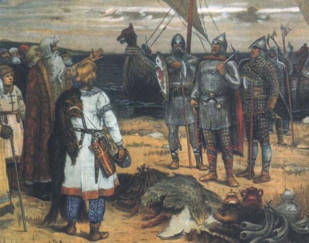 Ключевые моменты и предпосылки образования древнерусского государства