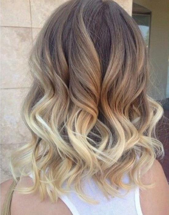 колорирование волос на короткие волосы
