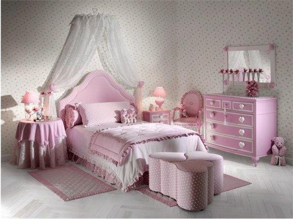 Комната для девочки - воплощение фантазии