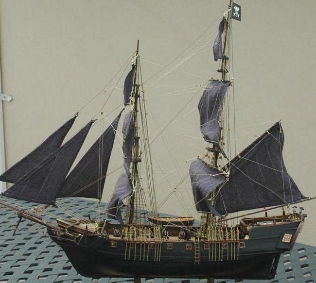 черная жемчужина корабль своими руками
