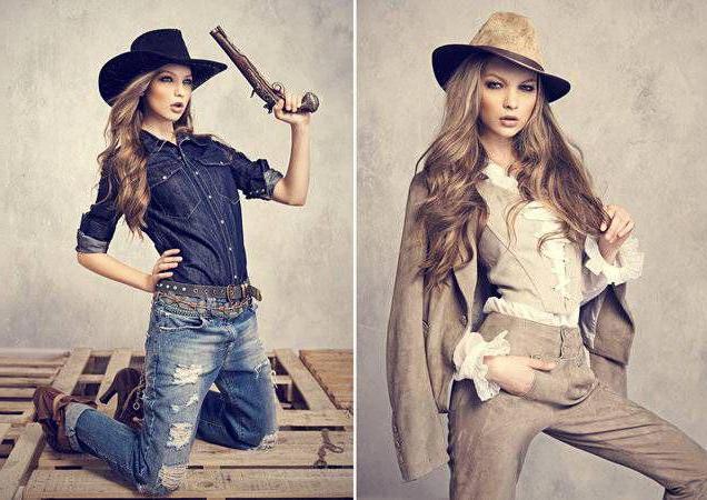 ковбойский стиль