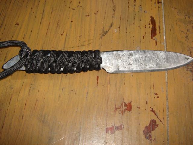 Ковка ножа в домашних условиях