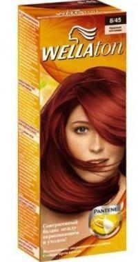 веллатон краска для волос оттенки