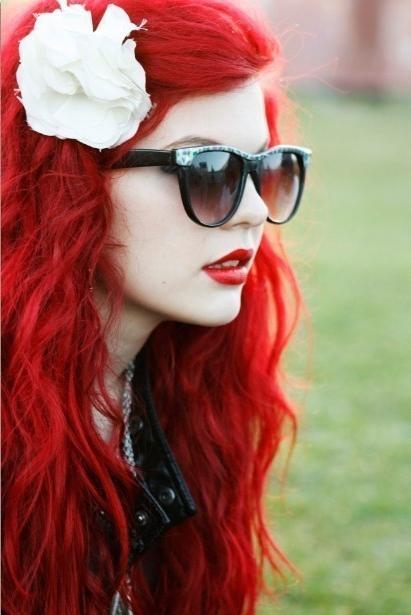 Красный оттенок волос: все тонкости