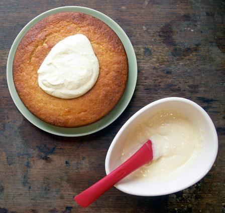 легкий крем для торта