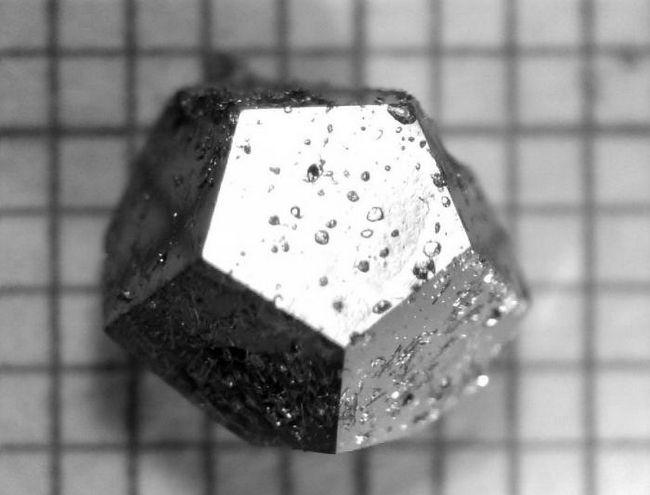 Кристаллы, найденные в сибирском кратере, не похожи ни на одно вещество на земле