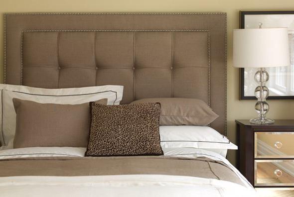 Кровать с мягким изголовьем: изысканность и красота