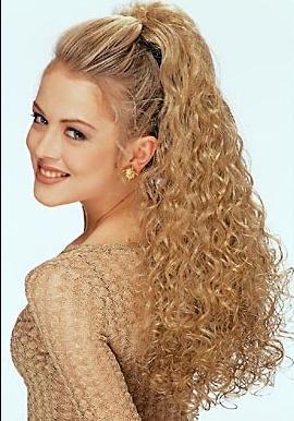 кудри на длинные волосы